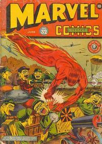 Cover Thumbnail for Marvel Mystery Comics (Marvel, 1939 series) #32