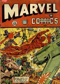 Cover Thumbnail for Marvel Mystery Comics (Marvel, 1939 series) #33