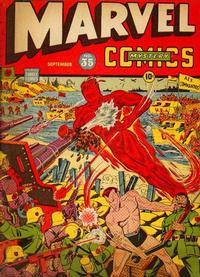 Cover Thumbnail for Marvel Mystery Comics (Marvel, 1939 series) #35
