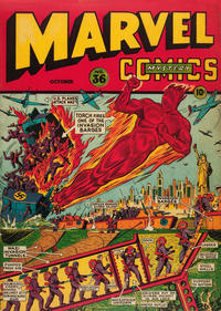Cover Thumbnail for Marvel Mystery Comics (Marvel, 1939 series) #36
