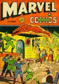 Cover Thumbnail for Marvel Mystery Comics (Marvel, 1939 series) #37