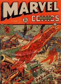 Cover for Marvel Mystery Comics (Marvel, 1939 series) #39