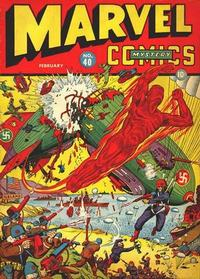 Cover Thumbnail for Marvel Mystery Comics (Marvel, 1939 series) #40