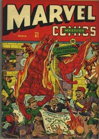 Cover Thumbnail for Marvel Mystery Comics (Marvel, 1939 series) #41