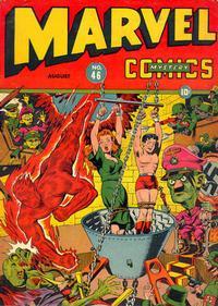 Cover Thumbnail for Marvel Mystery Comics (Marvel, 1939 series) #46