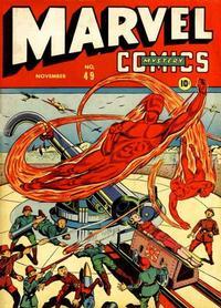 Cover Thumbnail for Marvel Mystery Comics (Marvel, 1939 series) #49