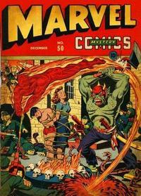 Cover Thumbnail for Marvel Mystery Comics (Marvel, 1939 series) #50