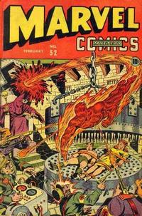 Cover Thumbnail for Marvel Mystery Comics (Marvel, 1939 series) #52