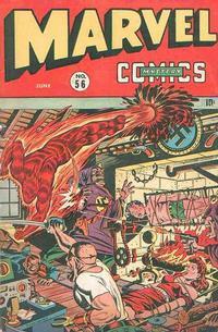 Cover Thumbnail for Marvel Mystery Comics (Marvel, 1939 series) #56
