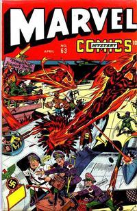 Cover Thumbnail for Marvel Mystery Comics (Marvel, 1939 series) #63