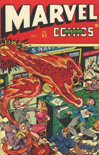 Cover Thumbnail for Marvel Mystery Comics (Marvel, 1939 series) #65