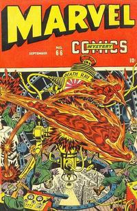 Cover Thumbnail for Marvel Mystery Comics (Marvel, 1939 series) #66