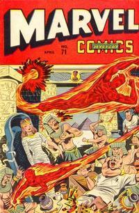 Cover Thumbnail for Marvel Mystery Comics (Marvel, 1939 series) #71
