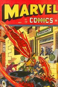 Cover Thumbnail for Marvel Mystery Comics (Marvel, 1939 series) #72