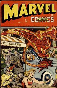 Cover Thumbnail for Marvel Mystery Comics (Marvel, 1939 series) #74