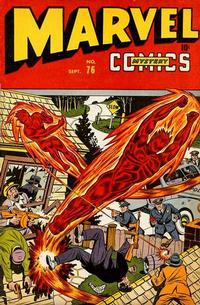 Cover Thumbnail for Marvel Mystery Comics (Marvel, 1939 series) #76
