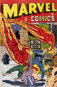 Cover for Marvel Mystery Comics (Marvel, 1939 series) #78