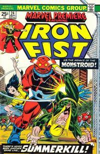 Cover Thumbnail for Marvel Premiere (Marvel, 1972 series) #24 [Regular Edition]