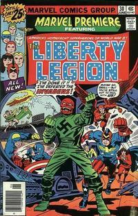 Cover Thumbnail for Marvel Premiere (Marvel, 1972 series) #30 [25¢]