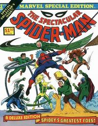 Cover Thumbnail for Marvel Special Edition (Marvel, 1975 series) #1