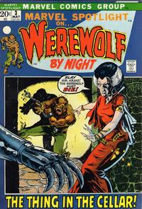 Cover Thumbnail for Marvel Spotlight (Marvel, 1971 series) #3