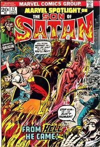 Cover Thumbnail for Marvel Spotlight (Marvel, 1971 series) #12