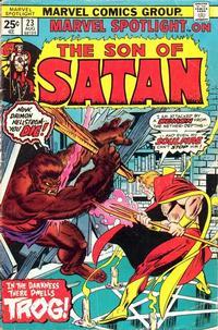 Cover Thumbnail for Marvel Spotlight (Marvel, 1971 series) #23