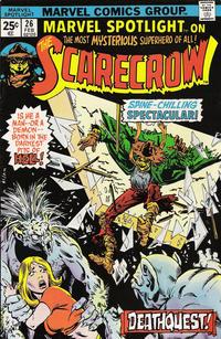 Cover Thumbnail for Marvel Spotlight (Marvel, 1971 series) #26 [Regular Edition]