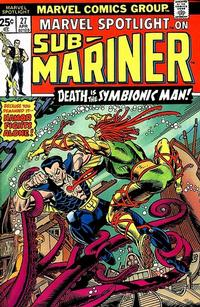 Cover Thumbnail for Marvel Spotlight (Marvel, 1971 series) #27 [25¢]