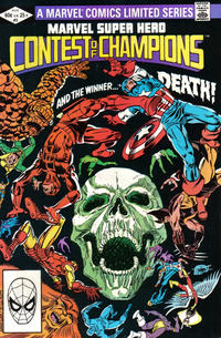 Cover Thumbnail for Marvel Super Hero Contest of Champions (Marvel, 1982 series) #3 [Direct]