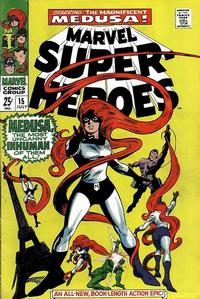 Cover Thumbnail for Marvel Super-Heroes (Marvel, 1967 series) #15