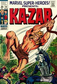 Cover Thumbnail for Marvel Super-Heroes (Marvel, 1967 series) #19