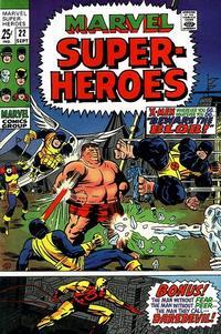 Cover Thumbnail for Marvel Super-Heroes (Marvel, 1967 series) #22