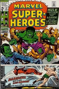 Cover Thumbnail for Marvel Super-Heroes (Marvel, 1967 series) #27
