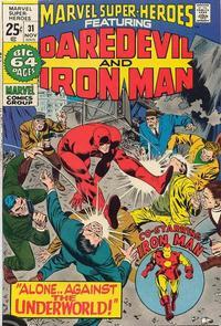 Cover Thumbnail for Marvel Super-Heroes (Marvel, 1967 series) #31