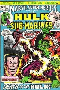 Cover for Marvel Super-Heroes (Marvel, 1967 series) #33