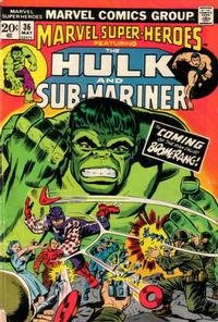 Cover Thumbnail for Marvel Super-Heroes (Marvel, 1967 series) #36