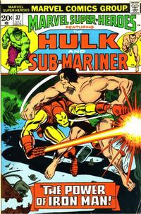Cover Thumbnail for Marvel Super-Heroes (Marvel, 1967 series) #37