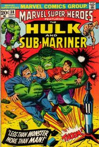 Cover Thumbnail for Marvel Super-Heroes (Marvel, 1967 series) #38