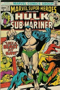 Cover for Marvel Super-Heroes (Marvel, 1967 series) #39