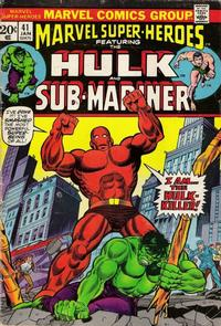 Cover Thumbnail for Marvel Super-Heroes (Marvel, 1967 series) #41