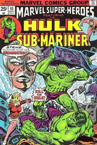 Cover Thumbnail for Marvel Super-Heroes (Marvel, 1967 series) #45