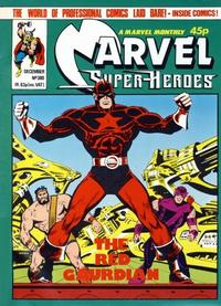 Cover for Marvel Superheroes [Marvel Super-Heroes] (Marvel UK, 1979 series) #380