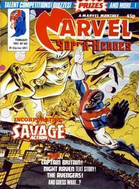 Cover Thumbnail for Marvel Superheroes [Marvel Super-Heroes] (Marvel UK, 1979 series) #382
