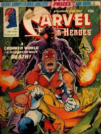 Cover Thumbnail for Marvel Superheroes [Marvel Super-Heroes] (Marvel UK, 1979 series) #387