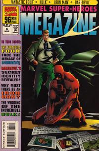 Cover for Marvel Super-Heroes Megazine (Marvel, 1994 series) #6