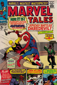 Cover Thumbnail for Marvel Tales (Marvel, 1966 series) #11