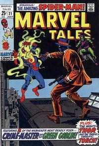 Cover Thumbnail for Marvel Tales (Marvel, 1966 series) #21