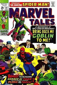 Cover Thumbnail for Marvel Tales (Marvel, 1966 series) #22