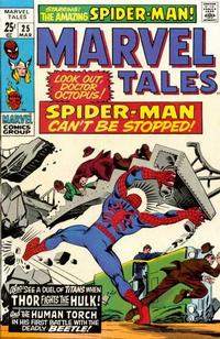 Cover Thumbnail for Marvel Tales (Marvel, 1966 series) #25